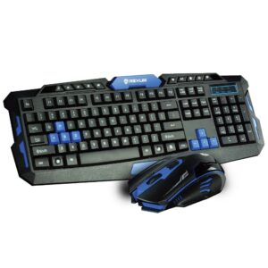 8. Rexus Warfaction VR2 + Mouse Gaming Wireless Combo RX-V2